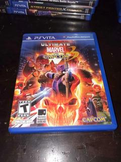Ultimate Marvel Vs Capcom 3 Psvita!!!