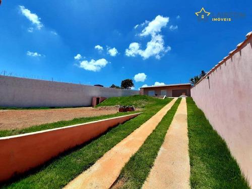 Chácara Com 1 Dormitório À Venda, 750 M² Por R$ 320.000 - Parque Videiras - Jarinu/sp - Ch1437