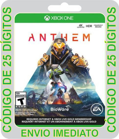 Anthem - Xbox One - Código 25 Dígitos