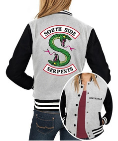 Jaqueta College Feminina Southside Serpents Série Riverdale