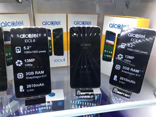 Alcatel Idol 4 4g 16gb Cam13mpx Ram 3gb Pantalla 5.2