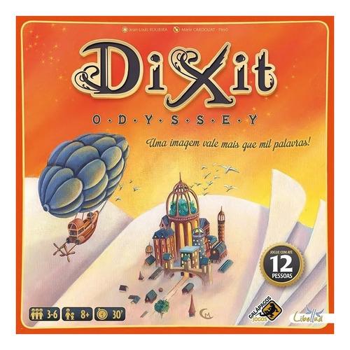 Imagem 1 de 3 de Jogo de mesa Dixit Odyssey Galápagos Jogos