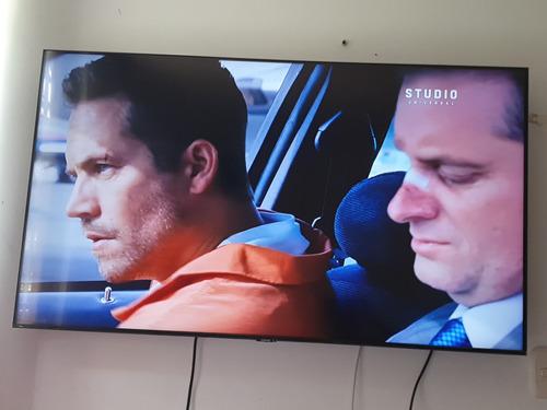 Imagen 1 de 4 de Samsung Crystal Smart Tv 55  4kuhd Mod. 2020 + Base De Pared