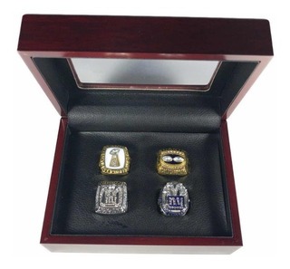 Nfl Anillos Superbowl Campeones New York Gigantes Fútbol A