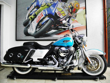 Harley Davidson Road King Classic Flhrc Azul 2016