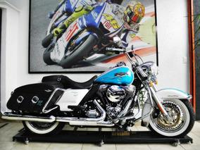 Harley Davidson Road King Classic Flhrc Azul 2016