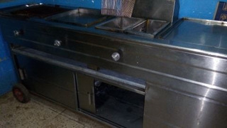 Vendo Cocina Industrial, Freidora