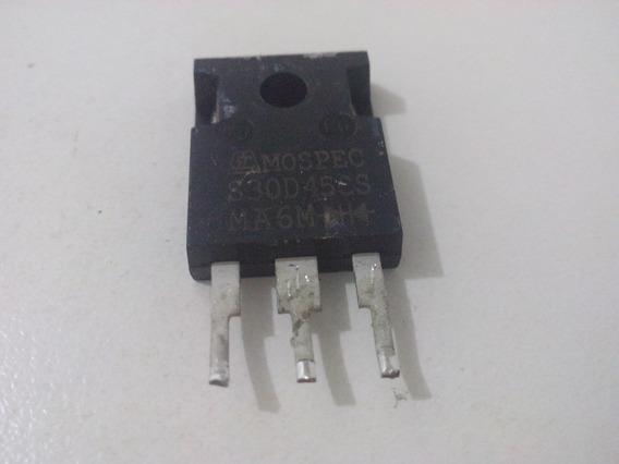 Retificador Duplo De Barreira Schottky 45v 30a (s30d45cs)