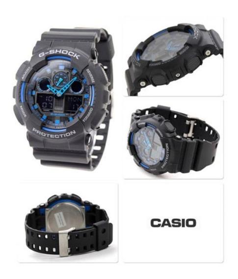 Relógio Casio G Shock Ref. Ga-100-1a2dr