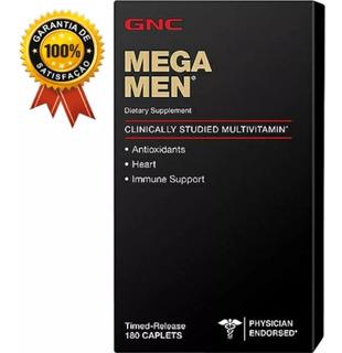 Multivitaminico Mega Men 180 Tabletes Gnc - P.entrega !