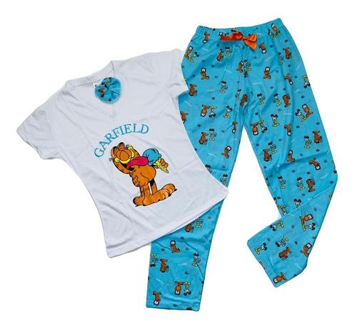 Pijamas De Garfield Para Mujer - Pantalón Largo