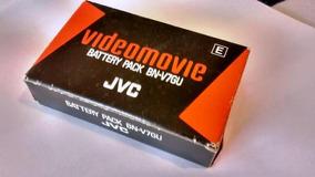 Jvc Videomovie Battery Pack Bn-v7gu, Nova, Sem Uso Na Caixa