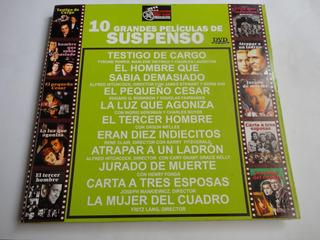 Dvds 10 Grandes Peliculas De Suspenso Cine Club Coleccion