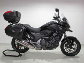 Honda Nc 750x - 2015 Preta - Baixo Km