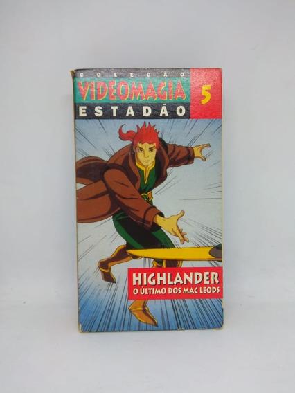 Fita Vhs Highlander Coleção Videomagia Estadão Vol. 5