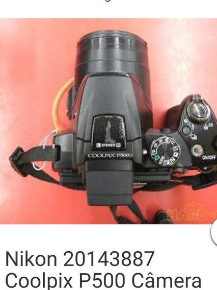Câmera F O Fotográfica Coolpix 500 Seme- Nova. Cartão M 60