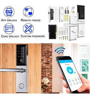 Cerradura Bluetooth App Llave Inalambrica Rfid Tecla Digital