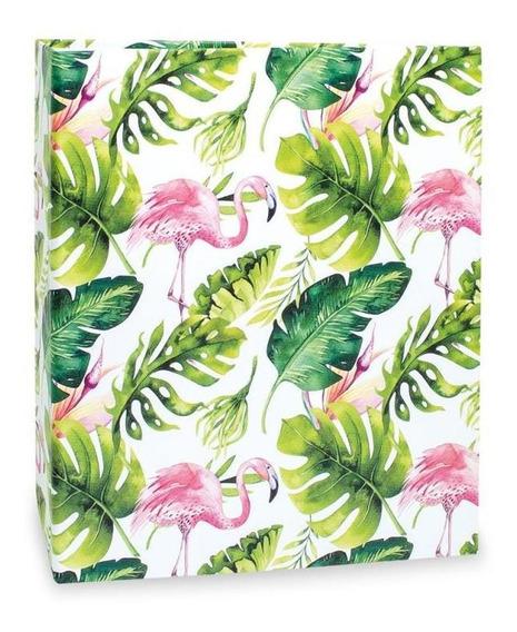 Álbum 200 Fotos 10x15 Flamingo Floral 315 Ical