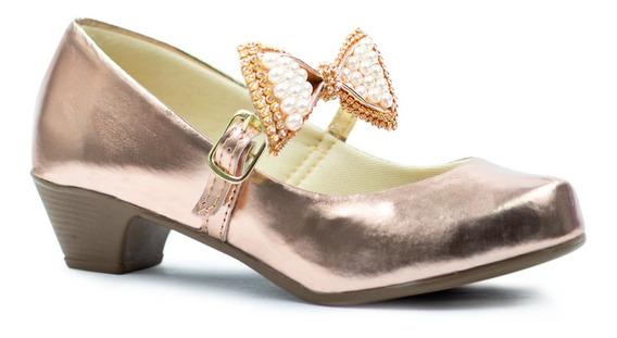 Sapato Salto Infantil Feminina Menina Sapatilha Boneca 101