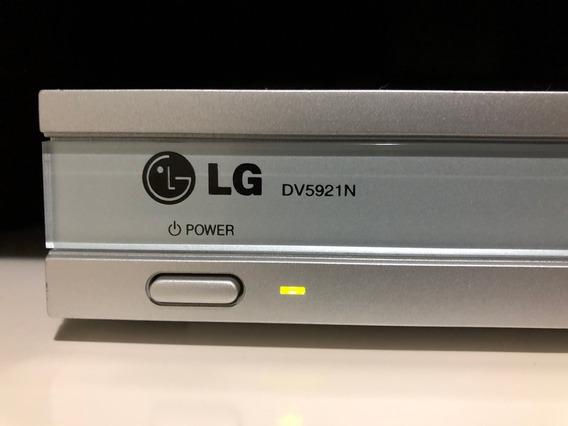 Dvd LG Dv5921n - Completo / Funcionando - Para Coleção