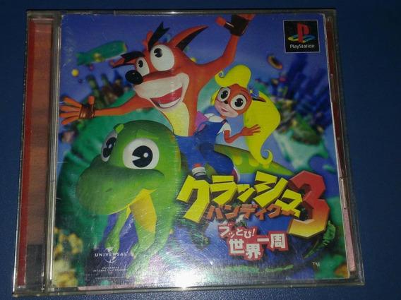 Crash Bandicoot 3 Original Japonês