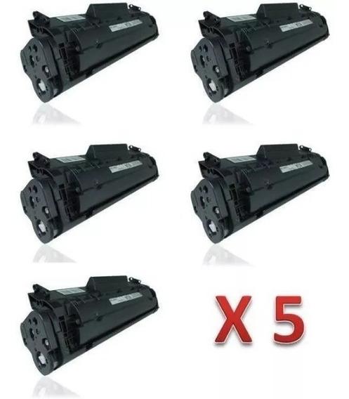 Kit 5 Tonner Hplaserjet M1319 Mfp - Novo