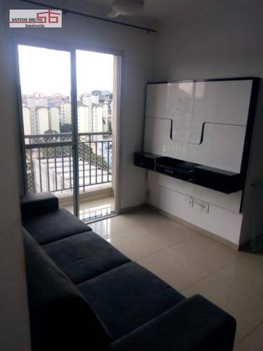 Apartamento Com 2 Dormitórios À Venda, 50 M² Por R$ 315.000,00 - Vila Siqueira (zona Norte) - São Paulo/sp - Ap4096