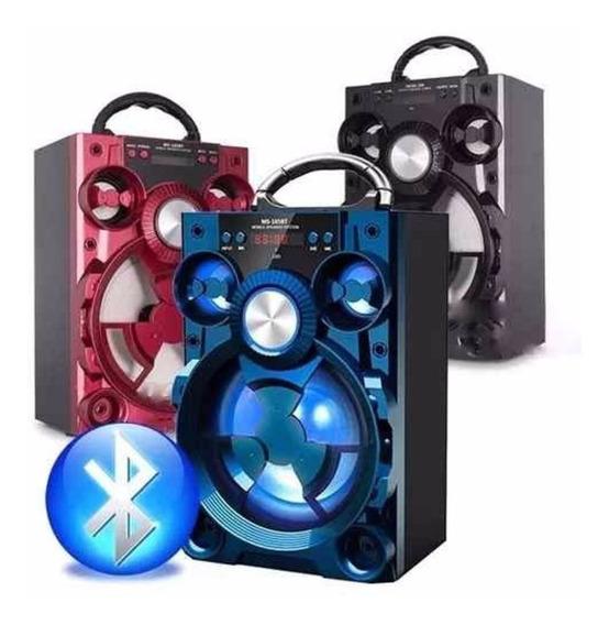 Caixa Amplificada / Bluetooth / Usb P2 - Grasep D-bh 2024