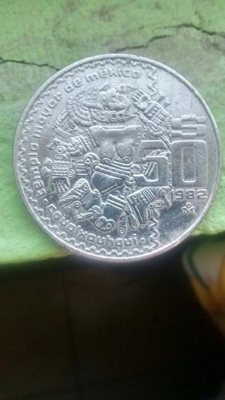 2 Monedas, $50 Pesos Año 1982 Y $20 Pesos Año 1982
