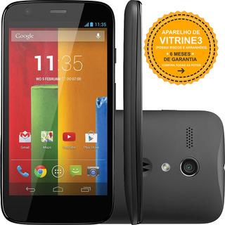 Motorola Moto G Xt1033 8gb Dual 3g 5mp 4.5 Preto Vitrine 3