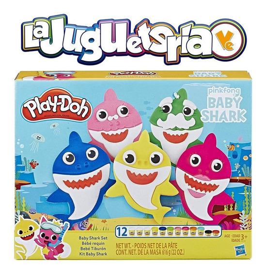 Play Doh Dovinci Baby Shark 25green