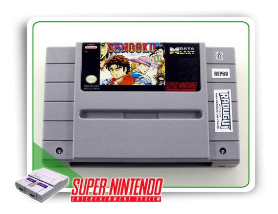 Sengoku Denshou Original Super Nintendo - Repro