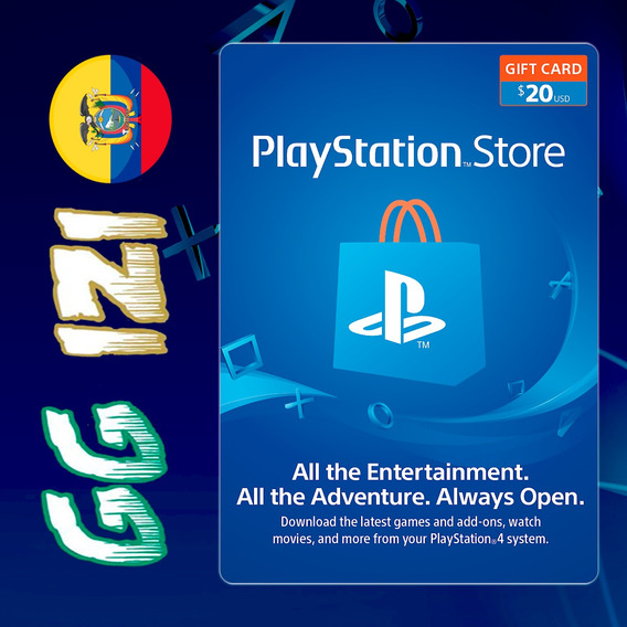 Playstation Gift Card $20 - Tarjeta De Regalo Ps4