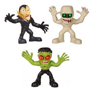 Stretch Strong Monsters Muñeco Terror Con Luz Y Sonido Lelab
