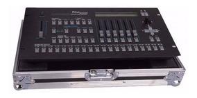 Mesa Controladora Dmx 512 - Pilot 2000 Com Case - Strobo