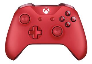 Joystick Inalámbrico Xbox One Rojo Original Caja Sellada