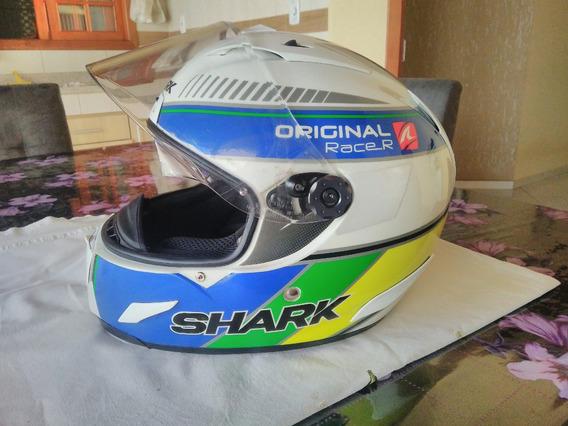 Novíssimo-capacete Shark Race R Brasil - Tam 60
