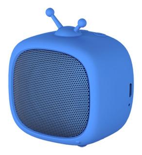 Parlante Noblex Adorable PSB02 portátil inalámbrico Azul