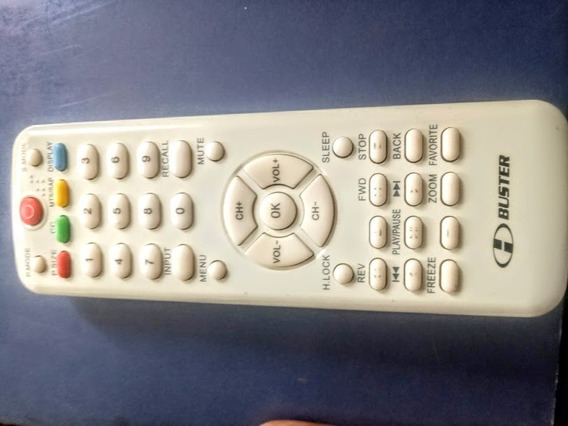 Controle Remoto Tv Lcd H Buster Htr D17 Hbtv3203 Hbtv4203fd