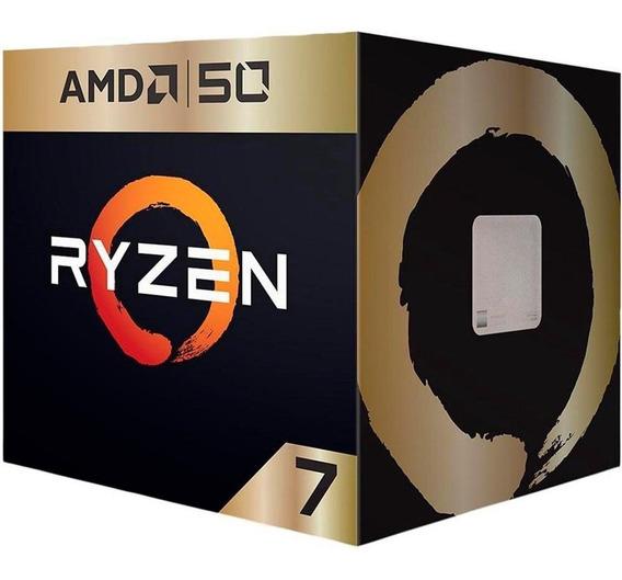 Processador Am4 Ryzen 7 2700x 3.7ghz (4.3ghz Max Boost) Cach