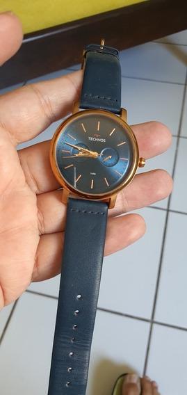 Relógio Technos Azul