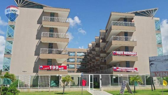 Apartamento Na Praia Do Cumbuco Vista Mar E Área De Lazer Completa - Ap0196