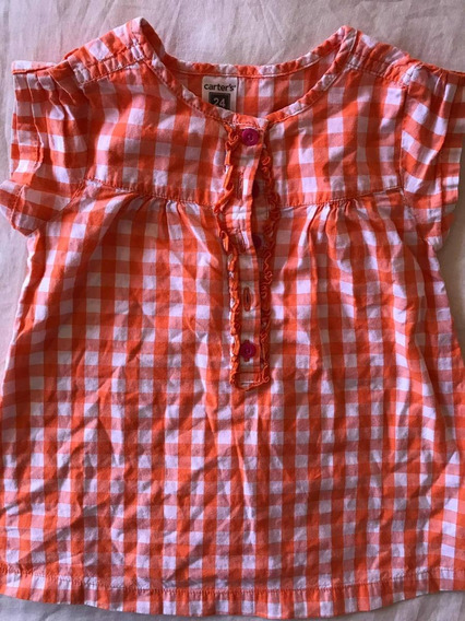 Camisa Carters 24 Meses