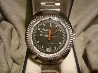 Precioso Reloj Renis 1970 Sin Uso!! New!! Unico En El Sitio!