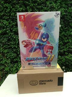 Amiibo Megaman 11 Bundle Juego+ Amiibo+ Poster