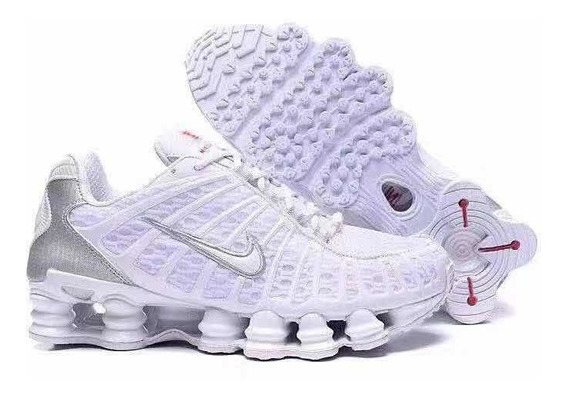 Zapatillas Nike Shox Tl1 Nuevas En Caja Blancas 39 A 44