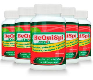 Emagrecedor Bequispi Mais - 5x 60 Cápsulas - Promel