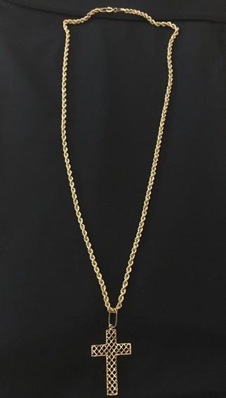 Vende-se Cordão De Ouro Com Pingente