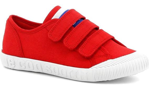 Zapatillas Le Coq Sportif Nationale Ps Pure Rojo