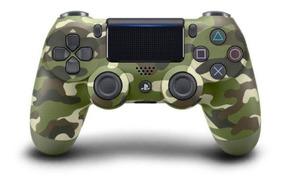 Controle Dualshock 4 Ps4 Usa-jet Camuflado Disponível Verde